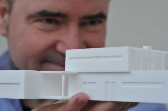 R.G. Pilch, Diplom-Designer, Spezialist in 3D-Druck: 3D-Druck Architekturmodell und R.G. Pilch 3D-Design Kommunikation