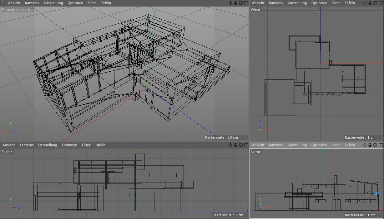 3d druck von architekturmodellen detailgenau und for Einfamilienhaus modelle